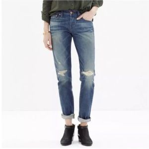 Rivet & Thread Boyfriend Distressed Jeans